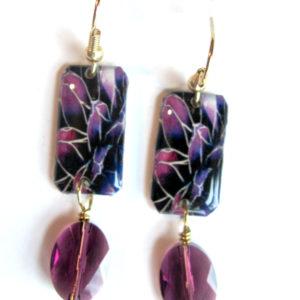 Amethyst earrings beaded_2010 (616x800)