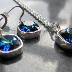 Blue Swarovski Rhinestone_1098