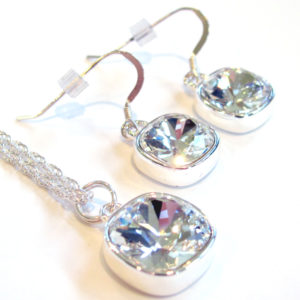 Clear Rhinestone Gift set_1316