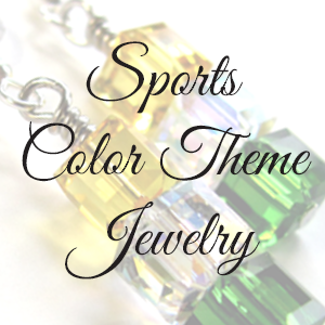 Sports Color Theme Jewelry