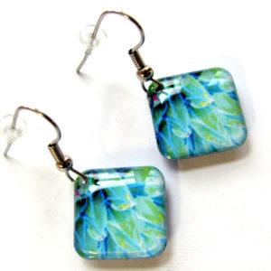 Desert Bloom light diamond shape earrings_2359
